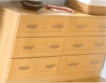 Arcadia Beech bedroom design - from Gee's Kitchens, Wardrobes & Flooring, Kildare