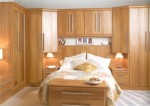 Hebden Light Walnut Bedroom