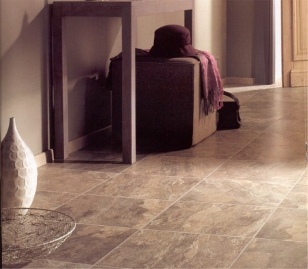 Highland slate flooring is available from Gee's Kitchens, Wardrobes & Flooring of Kildare.