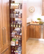 Kitchen Pull out larder - full extension - Kitchen Storage Solutions from Gee's Kitchens, Wardrobes & Flooring of Kildare.