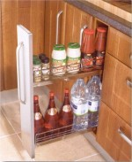 Kitchen 150mm base pull out - Kitchen Storage Solutions from Gee's Kitchens, Wardrobes & Flooring of Kildare.