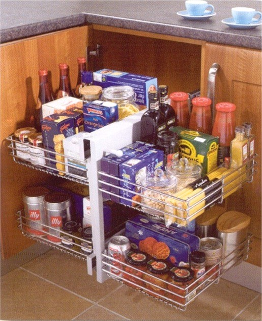 Kitchen Blind corner optimiser - Kitchen Storage Solutions from Gee's Kitchens, Wardrobes & Flooring of Kildare.
